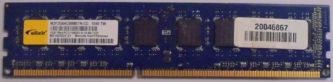 Elixir 2GB 1Rx8 PC3-10600U-9-10-B0.1333