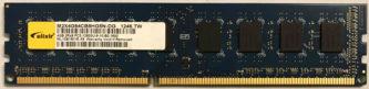 Elixir 4GB 2Rx8 PC3-12800U-9-10-B0.1600