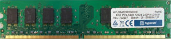 2GB PC2-6400U 128x8 240pin DIMM Hyperam