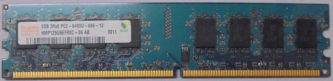 2GB 2Rx8 PC2-6400U-666-12 SKhynix