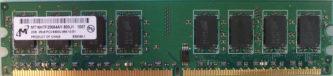 Micron 2GB 2Rx8 PC2-6400U-666-13-E1