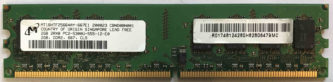 Micron 2GB 2Rx8 PC2-5300U-555-12-E0