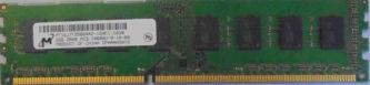 Micron 2GB 2Rx8 PC3-10600U-9-10-B0