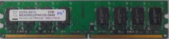 PQ 2GB DDR2-667U