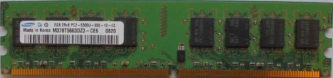 Samsung 2GB 2Rx8 PC2-5300U-555-12-E3