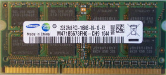 Samsung 2GB 2Rx8 PC3-10600S-9-10-F2