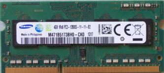 Samsung 4GB 1Rx8 PC3-12800S-11-11-B2