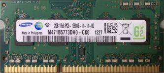 Samsung 2GB 1Rx8 PC3-12800S-11-11-B2