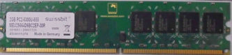 Swissbit 2GB PC2-5300U-555