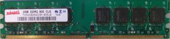 takeMS 2GB DDR2 800 CL5