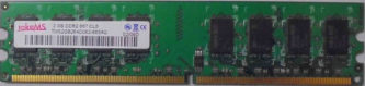takeMS 2 GB DDR2 667 CL5