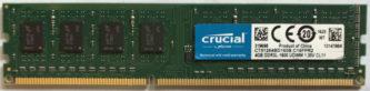 4GB PC3L-12800U Crucial