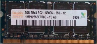 2GB PC2-5300S Hynix