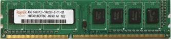 4GB 1Rx8 PC3-10600U-9-11-B1 Hynix