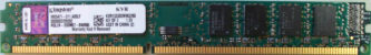 4GB PC3-10600U Kingston
