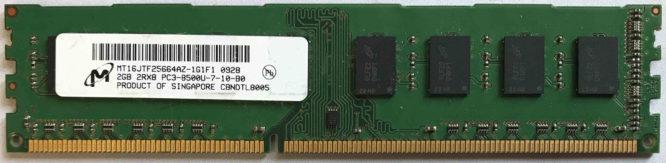 4GB PC3L-12800S Micron