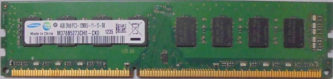4GB PC3-12800U Samsung