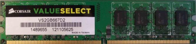 2GB PC2-5300U ValueSelect