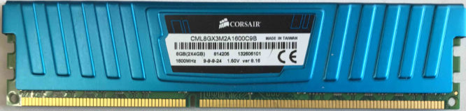 4GB PC3-12800U Corsair