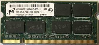 2GB PC2-6400S Micron