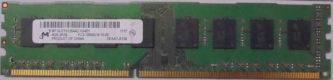4GB PC3-10600U Micron