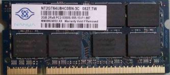 2GB PC2-5300S Nanya