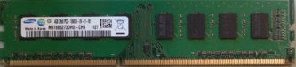 Samsung 4GB 2Rx8 PC3-10600U-09-11-B1