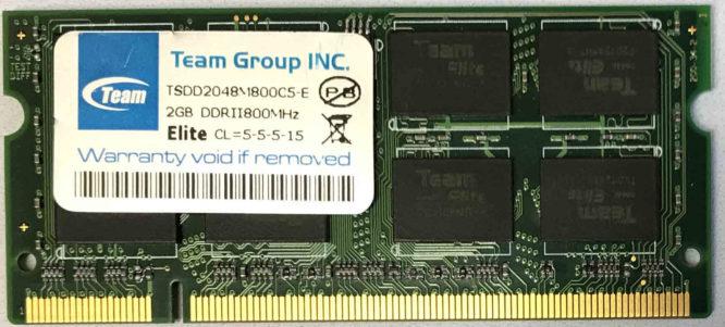 2GB PC2-6400S Team Group
