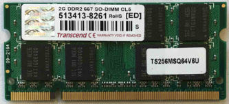 2GB PC2-5300S Transcend