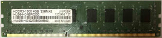 4GB PC3-12800U Unifosa