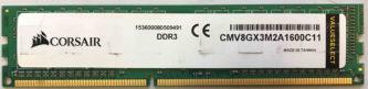 CMV8GX3M2A1600C11 Corsair