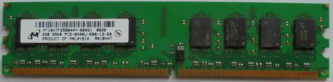 2GB 2Rx8 PC2-6400U-666-13-E0 Micron
