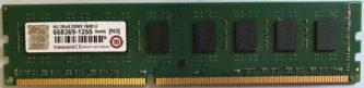 8GB 2Rx8 PC3-12800U Transcend