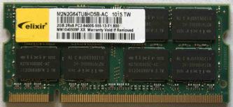 2GB 2Rx8 PC2-6400S-555-13-F1 Elixir