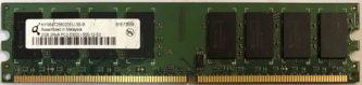 2GB 2Rx8 PC2-5300U-555-12-E0 Qimonda