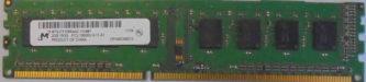 2GB 1Rx8 PC3-10600U-11-11-A1 Micron