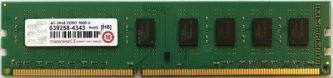 4GB 2Rx8 PC3-12800U Transcend