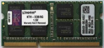 Kingston 8GB 2Rx8 PC3-10600S