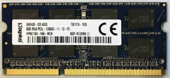 Kingston 8GB PC3L-12800S 1600MHz